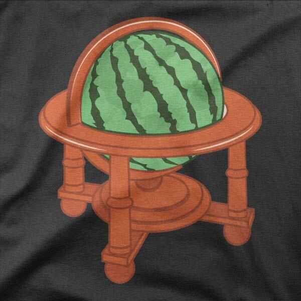 Motiv majice Globus lubenica