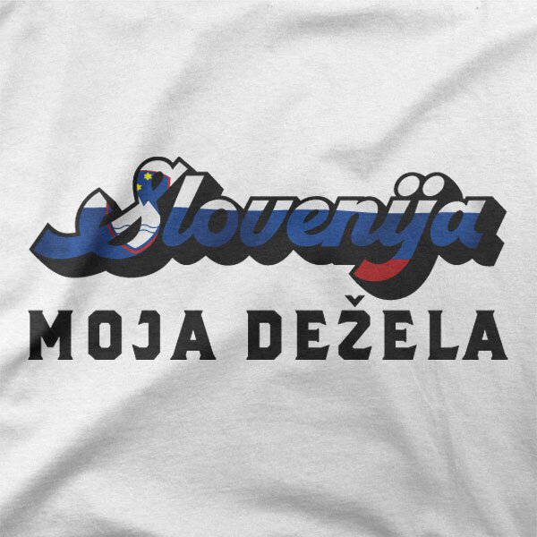 Motiv majice Slovenija moja dežela