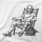 Motiv na majici Stol na plaži