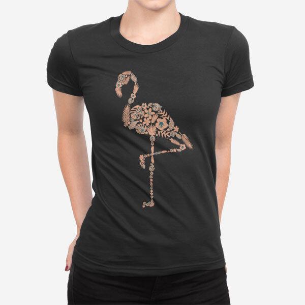 Ženska kratka majica Flamingo