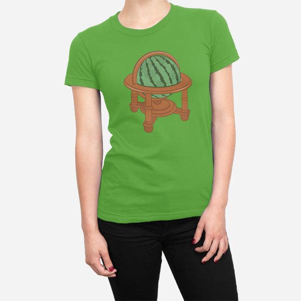 Ženska kratka majica Globus lubenica