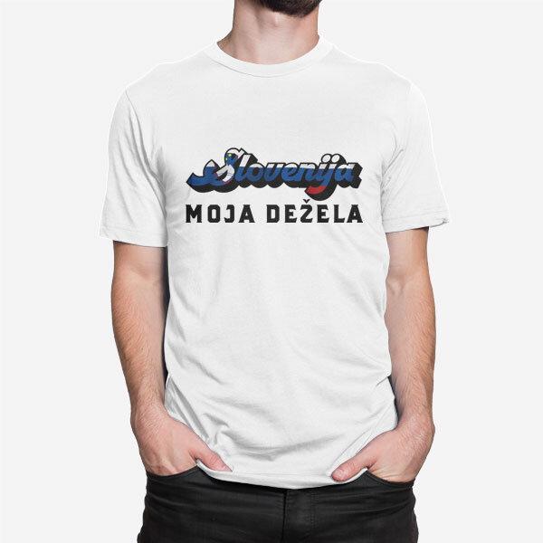 Moška kratka majica Slovenija moja dežela