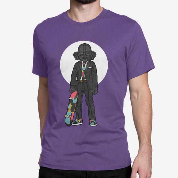 Moška majica Skejter Darth Vader
