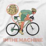 Motiv Motor kolesarja