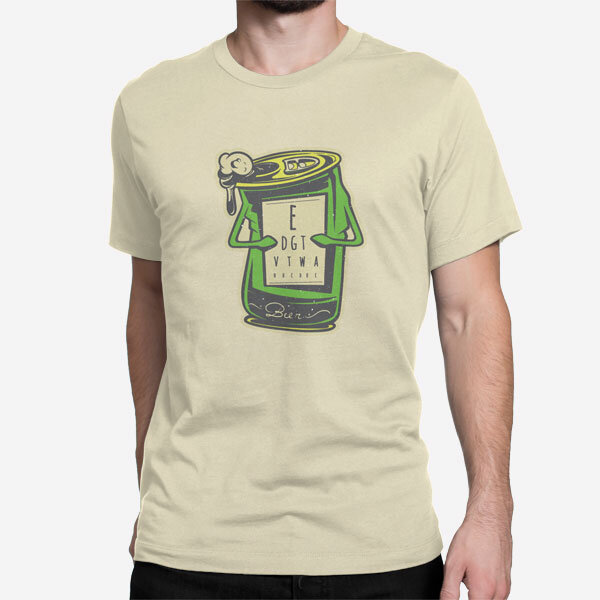 Peščena kratka majica Test vida