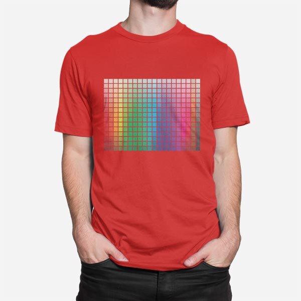 Moška kratka majica Barvna lestvica