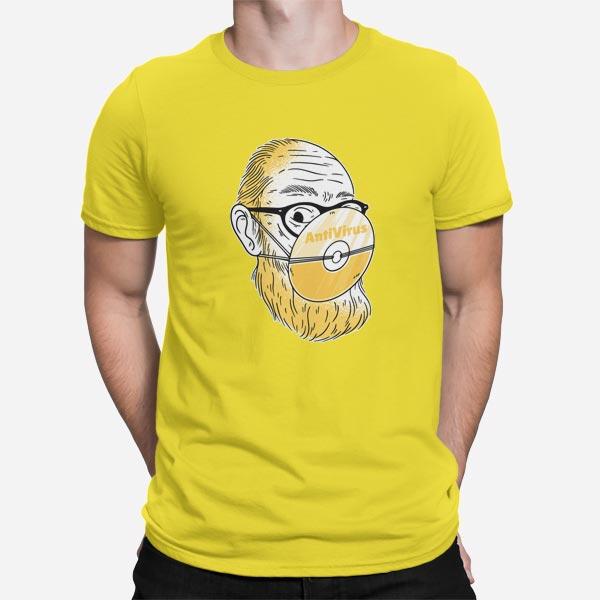 Moška kratka majica Antivirus