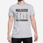 Siva kratka majica Mojster