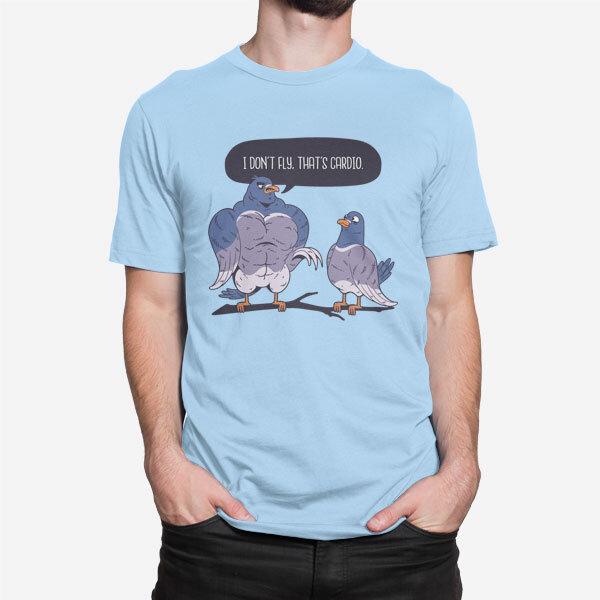Moška kratka majica Športna debata