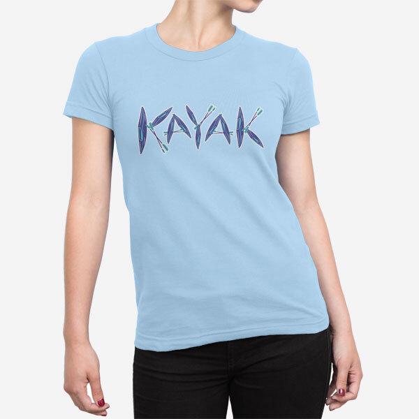 Ženska kratka majica Kajak