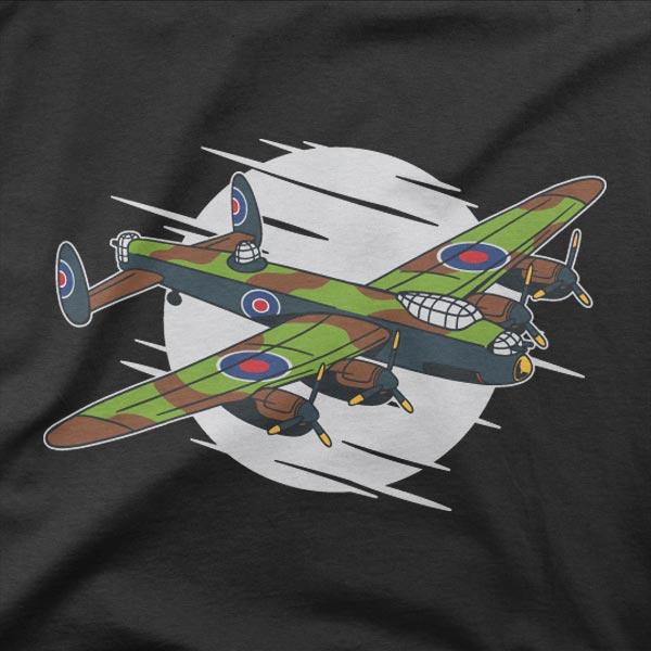 Motiv letalo Lancaster bombnik