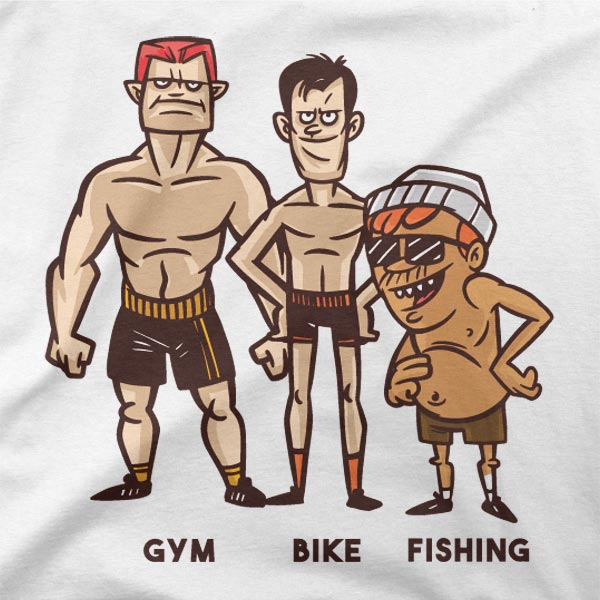 Motiv Fit ribič