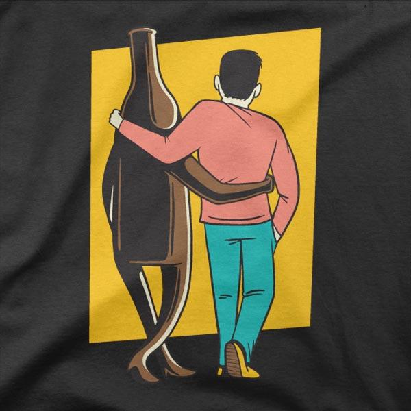 Motiv Jaz in pivo sva super par
