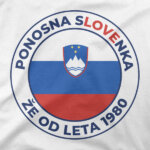 Motiv Ponosna Slovenka