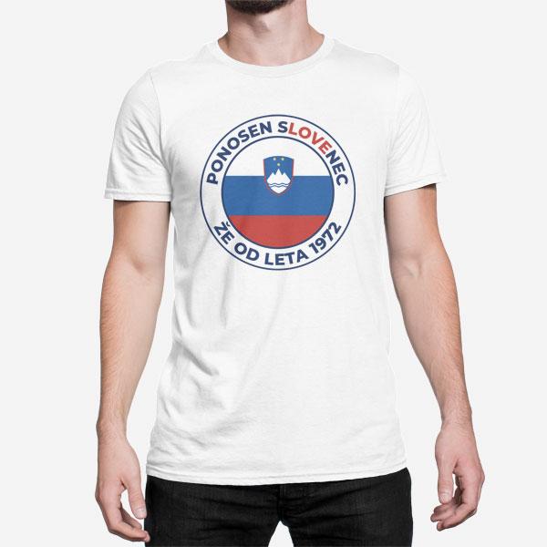 Moška kratka majica Ponosni Slovenec