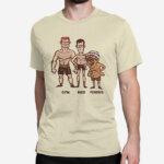 Peščena moška kratka majica Fit ribič