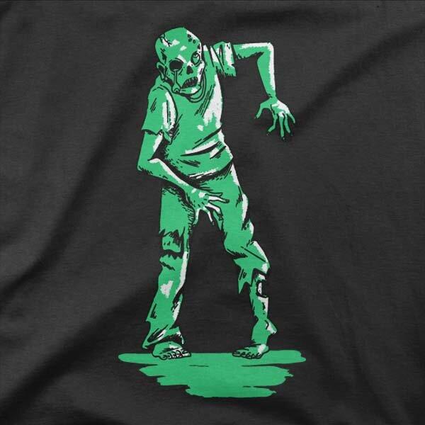 Motiv Zeleni zombi