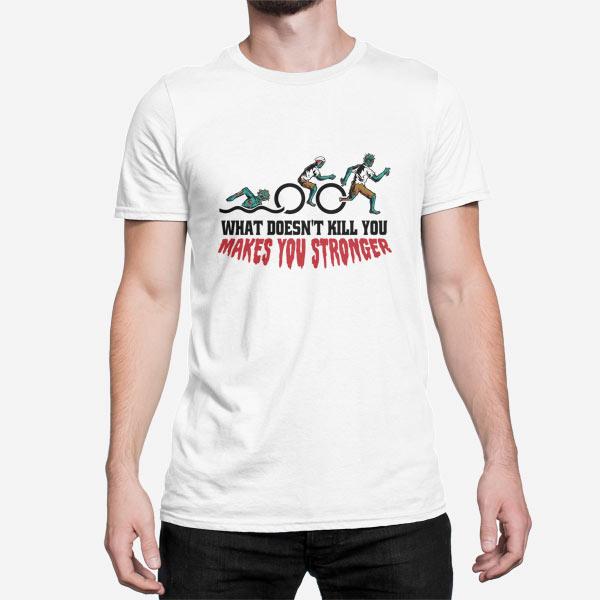 Moška kratka majica Športnik zombi