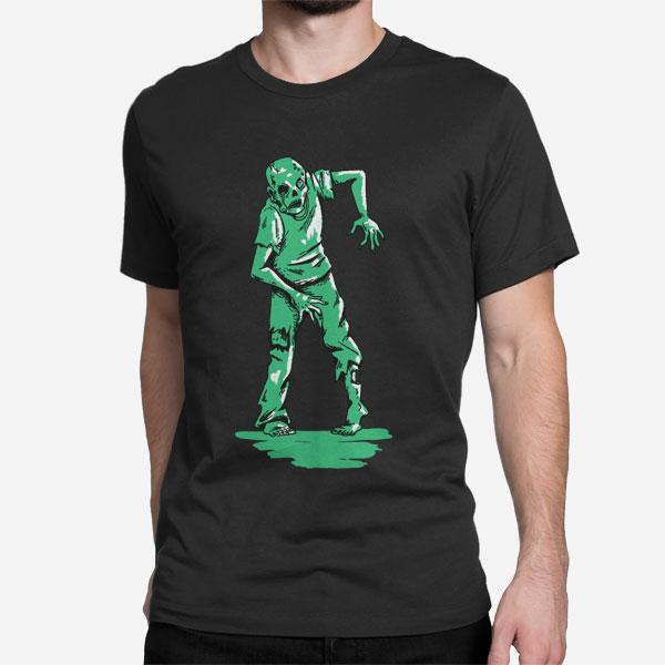 Moška majica kratek rokav Zeleni zombi