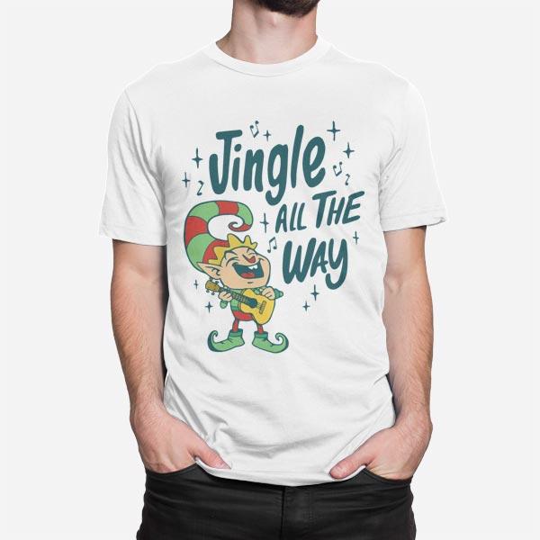 Moška majica Božični škrat