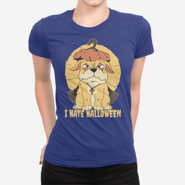 Ženska kratka majica Sovražim noč čarovnic