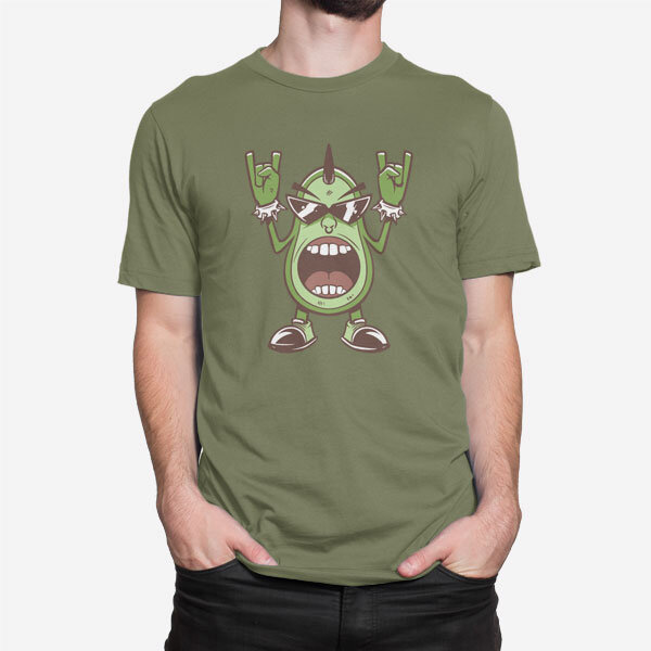 Moška kratka majica Metal avokado